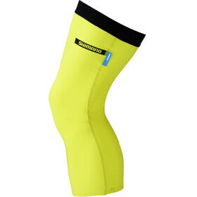 Shimano Knee Warmer, neon yellow